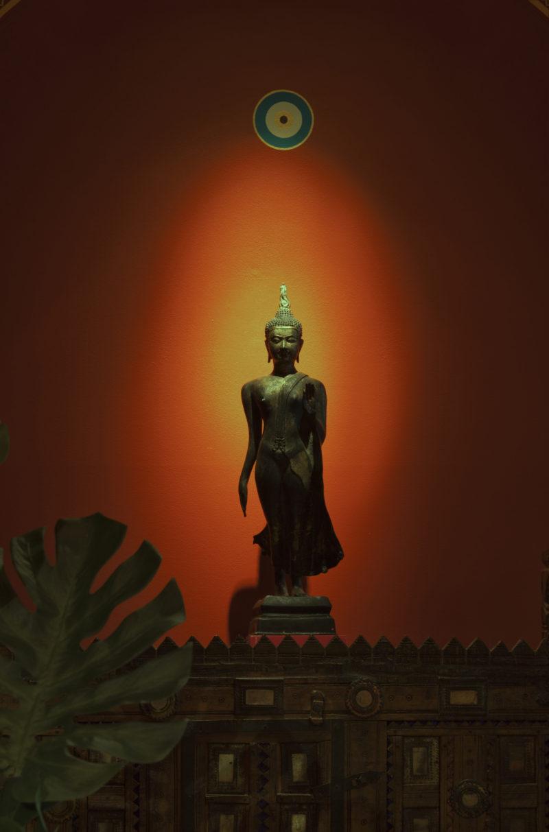 Linda-allen-designs-moroccan-living room-lounge-buddha