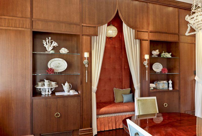 Built-in-lounge-Whimsical Dining/Lounge-linda-allen-designs