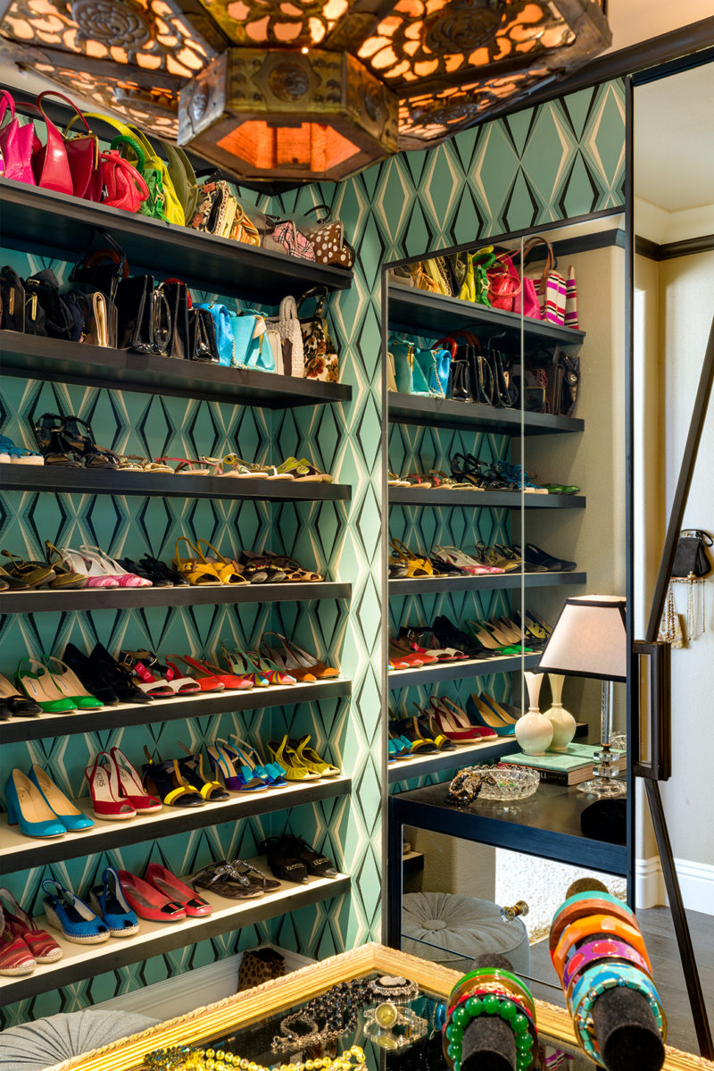 Linda Allen Designs vintage inspired closet