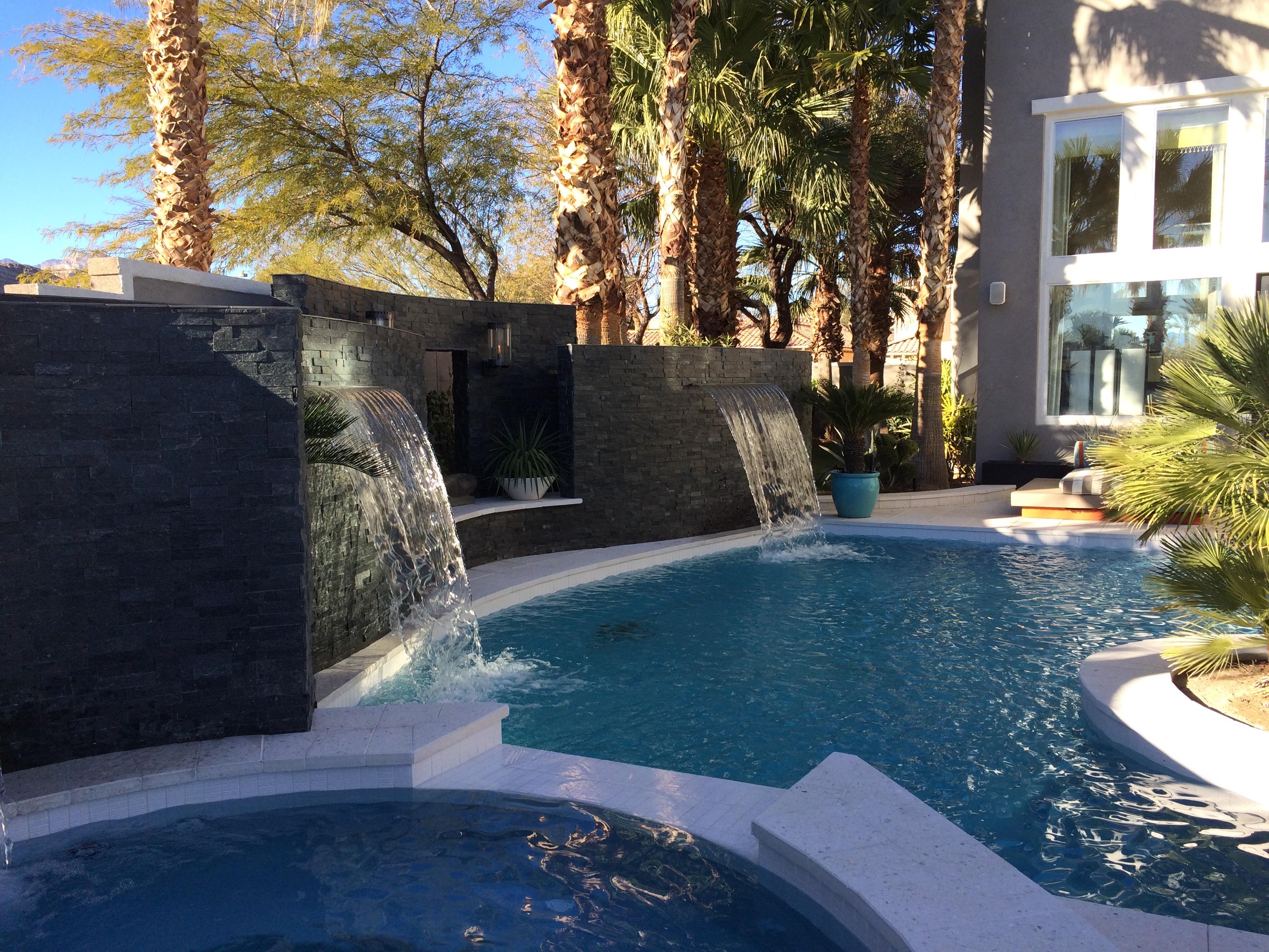 Linda Allen designs Exteriors Las Vegas