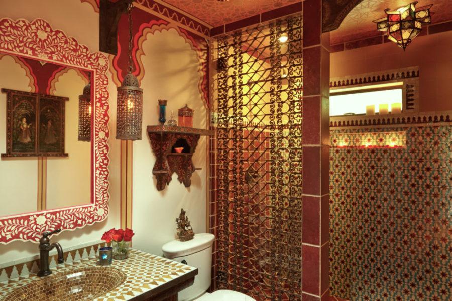 Linda Allen Designs Moroccan Bathroom Bathe
