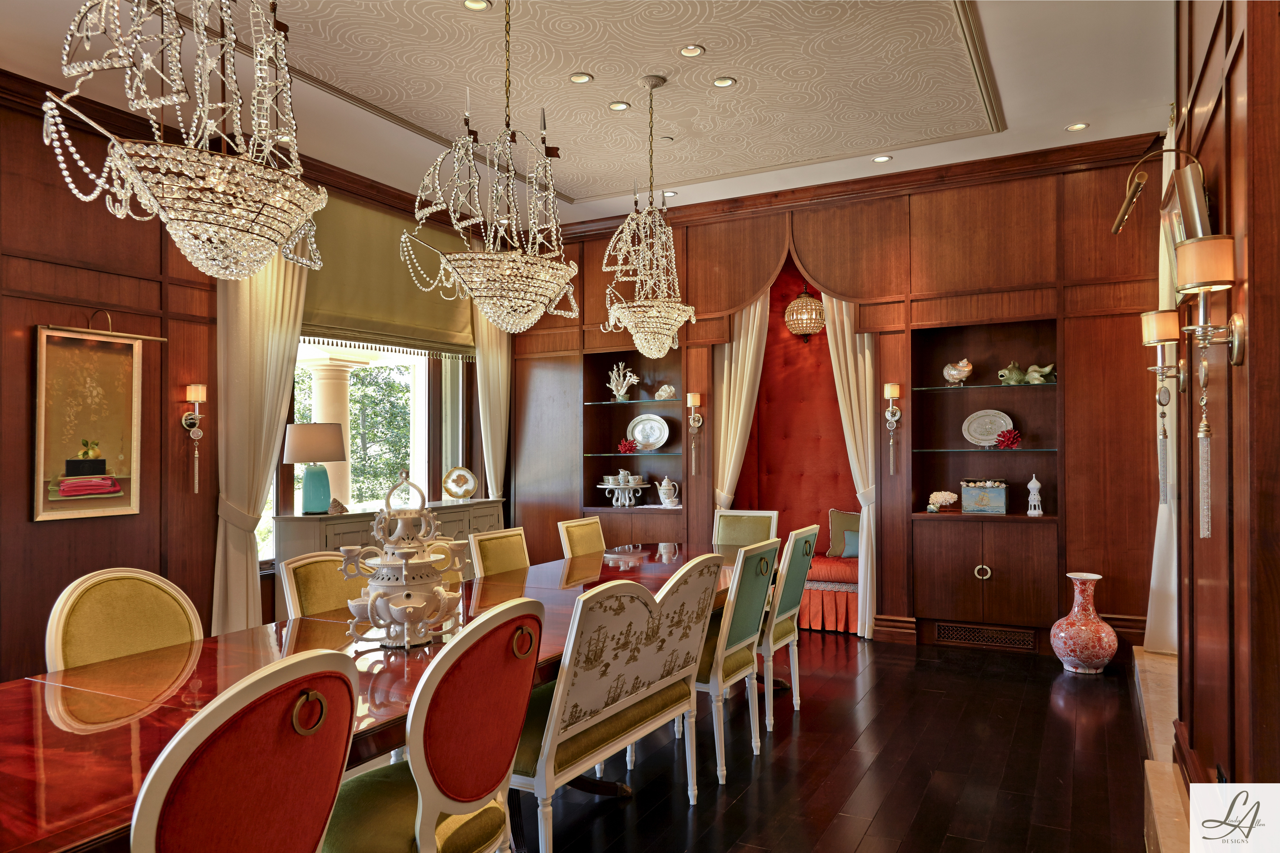 Creative Whimsical Dining Room