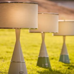 AVA Table Luxury Outdoor Lighting, modern outdoor lighting, luxury lighting for yachts, outdoor wireless table lamps